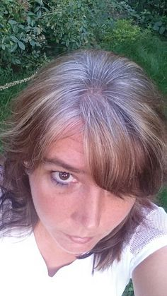 Groing out my gray, four months...