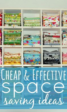 Space saving is on our mind. We're considering moving to a more affordable but smaller property but we're worried about the lack of space we'll have.