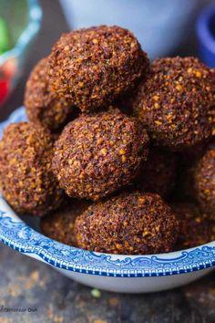 Φαλάφελ Cereal, Almond, Breakfast, Ethnic Recipes, Food, Almonds, Hoods, Meals, Corn Flakes