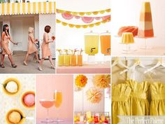 {Citrus   Sorbet}: A Palette of Shades of Pink, Orange   Yellow