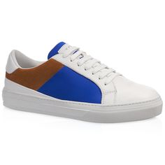 TOD'S Leather Sneakers. #tods #shoes #