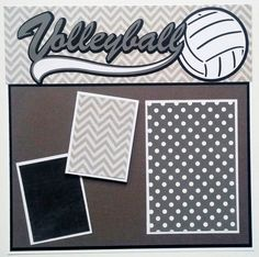 Are your sports photos piling up? Would you like a really meaningful graduation gift? Please take a look at my premade scrapbook pages. This volleyball scrapbook page is complete. I have done all the work for you. All you need to do is add your own photos and you will have a professional looking scrapbook full of your memories. More premade sports layouts can be found here http://etsy.me/1Jynun2 The Ohioscrapper shop has over 100 premade scrapbook pages in a variety of themes....