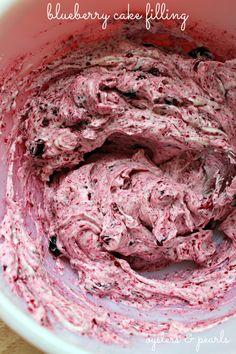 Blueberry Cake Filling