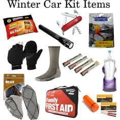 Winter Car Kit by fontanasports, via Polyvore