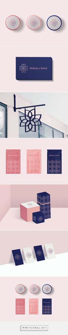 Belleza Y Salud by Maria Hdez on Behance | Fivestar Branding – Design and Branding Agency & Inspiration Gallery