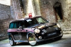 Watch out for the Style Police! Agent Provocateur go to town on a custom-made MINI Clubvan to celebrate Life Ball 2008.