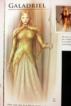 Are you kidding me? We almost had an armored Galadriel.