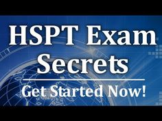 HSPT Exam Secrets -  Free HSPT Math Strategies http://www.hsptsecrets.com  Relying on the right study materials is absolutely essential for success on the HSPT test. What you see in the video is only a tiny sample of the high quality prep materials in our HSPT study guide.  Get everything you need for HSPT success in our study guide. Take advantage of practice tests, and helpful study techniques to achieve your goal of passing your HSPT exam! #hspttest #mometrix