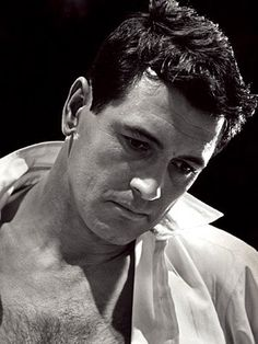 Rock Hudson...he takes your breath away, he was so handsome