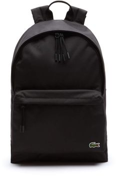 Lacoste Men's Neocroc Canvas Backpack Cute Backpacks For Women, Cute Mini Backpacks, Stylish Backpacks, Girl Backpacks, Lacoste Bag, Canvas Backpack, Backpack Bags, Black Backpack, Travel Accessories