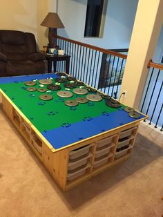 """A story about how the Lego table goes awesome!    This post is not meant as a detailed """"how to"""" instructional. However, I do hope that..."""