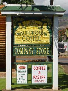 Maui Grown Coffee Company Store