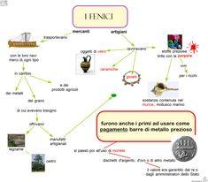 09-i-fenici-mercanti-e-artigiani Education, 3, Geography, Pink, History, Art, Culture, Training, Educational Illustrations