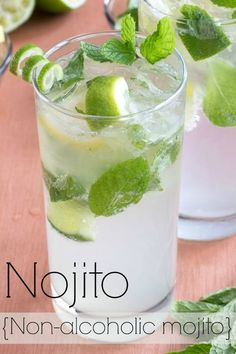 Refreshing Drinks, Fun Drinks, Yummy Drinks, Healthy Drinks, Healthy Snacks, Healthy Eats, Nutrition Drinks, Healthy Recipes, Mixed Drinks