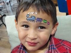 Face Paint train   We Love Face Painting!: We Love Face Painting at Bunnings Port ...