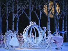 The Atlanta Ballet's production of Cinderella... incredible set!