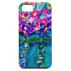 Summer Day Art Case-Mate Vibe iPhone 5/5S Case iPhone 5 Cases Exquisitely gorgeous, you will LOVE our decorative Stunning Whimsical Designer Art Flower iPhone Cases featuring a stunning color palette inspired by the lush gardens of the English Country side. The PERFECT GIFT! Our Magnificent Whimsical Designer Art Floral iPhone Cases are designed by artist Marie Jose Pappas of Innocent Originals.