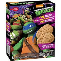 Betty Crocker Fruit Snacks Nickelodeon Teenage Mutant Ninja Turtles Cinnamon Oat Crisps, 8 Count (Pack of 12) Betty Crocker Fruit Snacks http://www.amazon.com/dp/B0199RFZ8Q/ref=cm_sw_r_pi_dp_carTwb09M4KPG