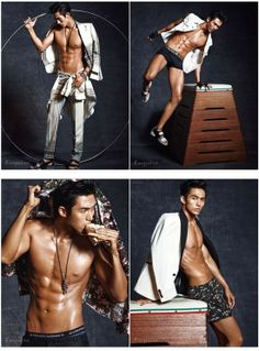 Seulong bares his impressive abs for 'Esquire' | allkpop.com