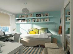 Chelsea Teen's room & bath - modern - kids - new york - Marie Burgos Design