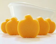 30 BULK MINI PUMPKIN SOAPS ~Perfect for halloween & fall DIY party favors & decor