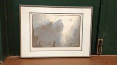 Large Framed Embossed Etching Print by Ian