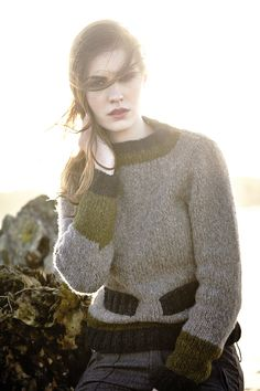 Carmel by Martin Storey: Rowan Brushed Fleece Collection (available July 15, 2014)