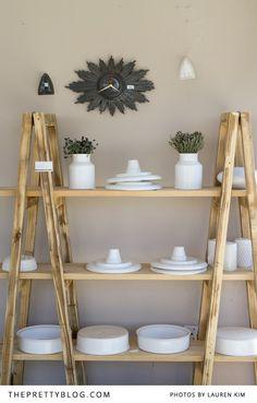Range of white ceramics {Shop Tour} | Ceramic Factory, Photos: Lauren Kim Photography