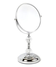 Another great find on #zulily! Chrome Dion Magnifying Mirror #zulilyfinds