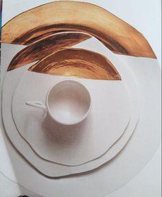 gold-dipped home design design ideas design design Ceramic Pottery, Ceramic Art, Keramik Design, Paperclay, Interior Design Inspiration, Design Ideas, Home Design, Design Trends, Dinnerware