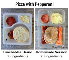 DIY: Homemade Healthy Lunchables (that look just like store bought) - 100 Days of Real Food