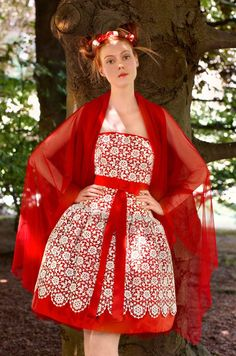 red wedding dress - Google Search