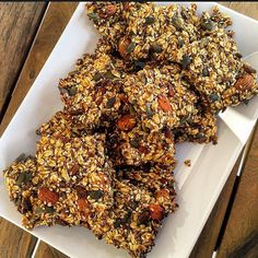 #postworkout #breakfast #onthetable this #morning : #superfood #granola bars  recipe inspired from @deliciouslyella app #ahealthynut#bbgcommunity#cleaneating#detox#eeeeats#feedfeed#f52grams#fitfam#govegan#glowlean#gloobyfood#glutenfree#healthy#israel#lifestyle#nutrition#organic#plantbased#vegan#veganfoodshare#wholefood#whatveganseat#beautifulcuisines by piece_ofnature