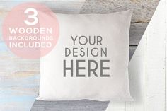 A167 Cushion Mock Up Stock Photo by UpStyled on Creative Market