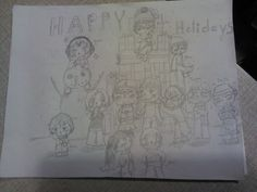 Take 2. Merry Christmas from the Dere residence!