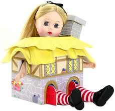 Alice in Rabbit's House $119.96 Alice In Rabbit's House is a wonderfully unique doll. now she no longer goes down the rabbit hole, she just wears his house!