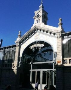 Dolce Uruguay: Café del Mercado - Mercado Agrícola de Montevideo