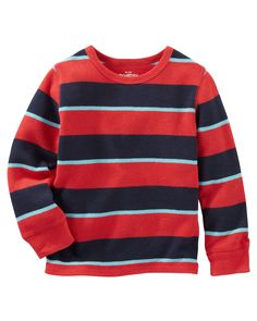 Baby Boy Striped Thermal from OshKosh B'gosh. Shop clothing & accessories from a trusted name in kids, toddlers, and baby clothes.