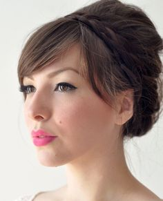 Braided Updo Homecoming Hairstyle » Homecoming Hairstyles