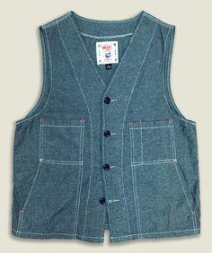 Mic California Chambray Vest