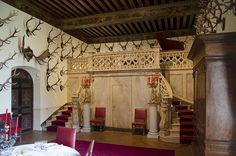 Château de Brissac, Brissac-Quincé, Maine-et-Loire . Salle à manger