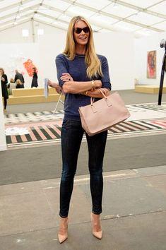 9587d47b42868d La meilleure Street Style Inspiration   Plus de détails qui font la différe Elle  Macpherson