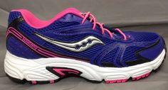 Saucony Oasis 2 Womens 9 Running Shoes Purple Pink 15096-13 #Saucony #RunningCrossTraining
