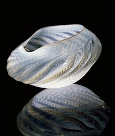 Dale Chihuly | Misty White Seaform, 1982