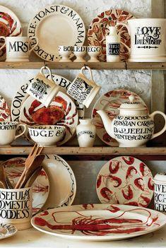 Toast & Marmalade at Emma Bridgewater Emma Bridgewater Pottery, New Kitchen, Kitchen Sofa, Marmalade, The Dish, Coastal Living, Tea Pots, Sweet Home, Creations