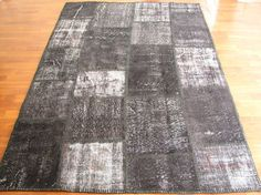 Patchwork Rug From Overdyed Anatolian Rug Order by AKSARAYCARPET, $90.00