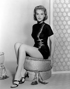 "Anne Francis in ""Forbidden Planet"" (1956)"