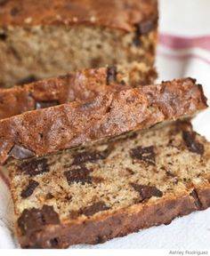 Chocolate chip banana bread (Yes, please.)