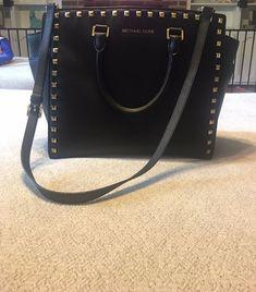 New Authentic Coach F31376 Large Bennett Satchel Shoulder Bag Purse Handbag BLK