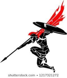 Spartan Spear, Spartan Logo, Spartan Tattoo, Spartan Warrior, Spartan Helmet, Black Line Tattoo, Blue Tattoo, Tattoo Sao Jorge, Guerrero Tattoo